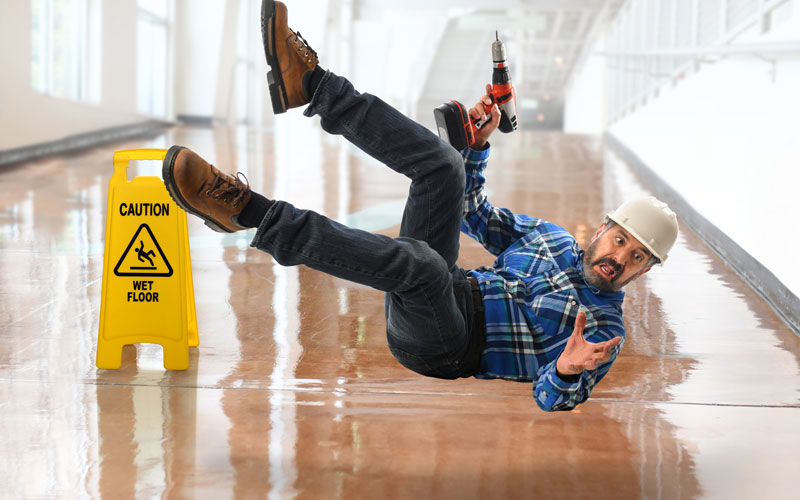 Tips to Reduce The Risk of Falling at The Workplace