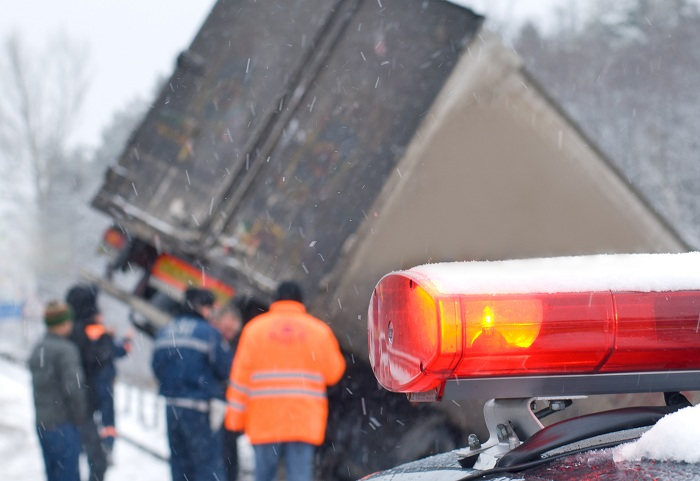 What Are The Causes Of Truck Accident In Snowfall?